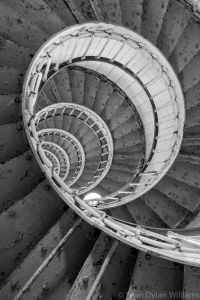 Spiral Staircase by Sean Dylan Williams, UTLT, Charente, France