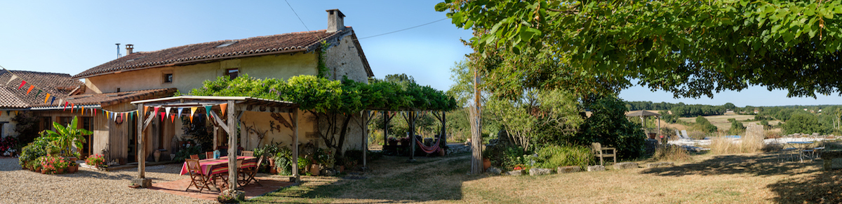 Vegetarian and Vegan Spa Bed and Breakfast, Charente, France